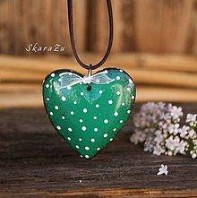 Náhrdelníky - Little Heart dots / 3D - 10791625_