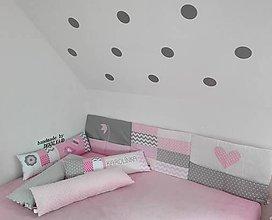 Textil - Mantinel,zástena na stenu 45x200cm z kolekcie LOVE - 10793469_