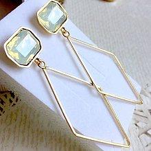Náušnice - Geometric Earrings / Náušnice geometria - 10792728_