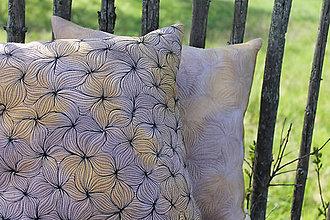Úžitkový textil - Polštář v hnědých tónech I - 10792355_