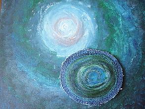 Odznaky/Brošne - dávam Ti kúsok z môjho vesmíru.. - 10793857_