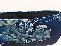 Kabelky - listová kabelka Modrý vtáčik - 10794095_