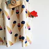 Detské oblečenie - Šaty BIO Zmrzlina  - 10794230_