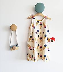 Detské oblečenie - Šaty BIO Zmrzlina - 10792970_