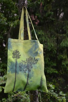 Nákupné tašky - Lesná taška - 10792616_
