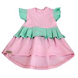 Detské oblečenie - Šaty - pastel summer mint pink - 10794221_