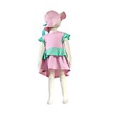 Detské čiapky - Detský klobúk pastel summer mint pink - 10794294_