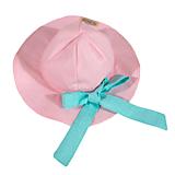 Detské čiapky - Detský klobúk pastel summer mint pink - 10794295_