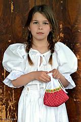 Iné tašky - Folk taštička pre cifrušky - 10793642_