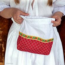 Iné tašky - Folk taštička pre cifrušky - 10793641_