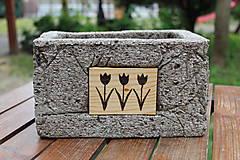 "Nádoby - Kvetináč ""Tulipány"" - 10794200_"