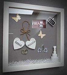 Iné doplnky - Pamiatka na svadobný deň - 10794553_