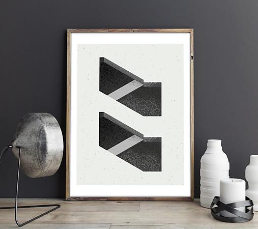 Print - Stairway