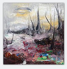 Obrazy - Lesné jahôdky, 70x70 - 10793823_