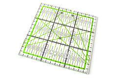 Pomôcky/Nástroje - Patchworkové pravítko 15 x 15 cm - 10792540_