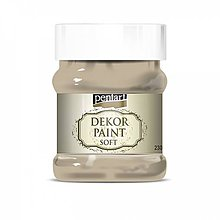 Farby-laky - Dekor paint soft - cappuccino, 230ml - 10793782_