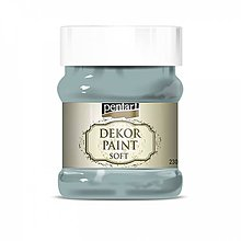 Farby-laky - Dekor paint soft - country modrá, 230ml - 10793793_