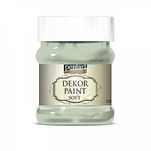 Farby-laky - Dekor paint soft - country zelená, 230ml - 10793800_