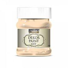 Farby-laky - Dekor paint soft - marhuľová, 230ml - 10793834_
