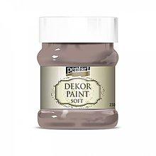 Farby-laky - Dekor paint soft - mliečna čokoláda, 230ml - 10793852_