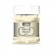Farby-laky - Dekor paint soft - slonovinová, 230ml - 10793856_