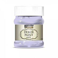 Farby-laky - Dekor paint soft - svetlá fialová, 230ml - 10793902_