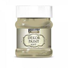 Farby-laky - Dekor paint soft - vintage béžová, 230ml - 10793942_