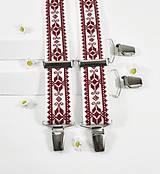 Doplnky - Pánske traky II folk vyšívané - 10792242_