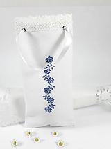 Úžitkový textil - Darčeková taštička na fľašu folk vyšívaná - 10792245_