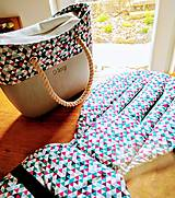 Textil - Podložka + zladený lem obag - 10795196_