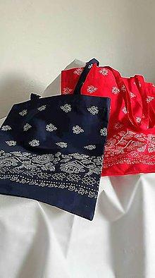 Nákupné tašky - Folk taška - 10796396_