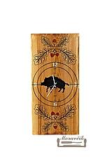 Hodiny - Hodiny s poľovníckym motívom - 10795627_