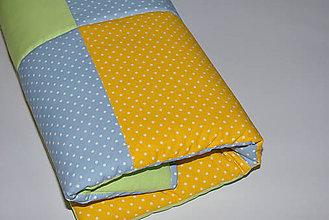 Úžitkový textil - Patchwork deka - 10796124_