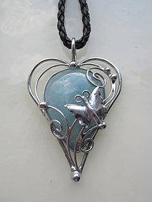 Náhrdelníky - Láska motýlia - 10795144_