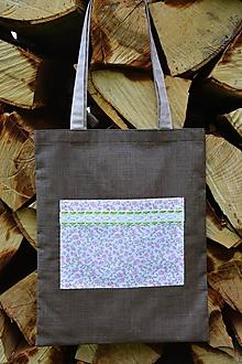Nákupné tašky - Nákupná taška - ruže - 10794729_