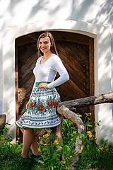 Sukne - Dámska sukňa Hore vŕškom - 10795078_