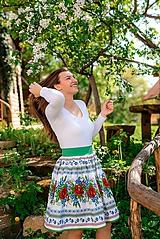 Sukne - Dámska sukňa Hore vŕškom - 10795079_