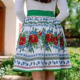 Sukne - Dámska sukňa Hore vŕškom - 10795083_
