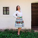 Sukne - Dámska sukňa Hore vŕškom - 10795084_