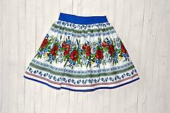 Sukne - Dámska sukňa Hore vŕškom - 10795089_