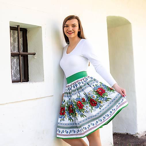 Dámska sukňa Hore vŕškom