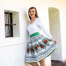 Sukne - Dámska sukňa Hore vŕškom - 10795085_