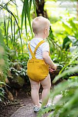 Detské oblečenie - ROMPER SUMMER MUSLIN - 10796467_