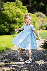 Detské oblečenie - ŠATY SPINNING - 10796496_