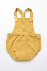 Detské oblečenie - ROMPER SUMMER MUSLIN - 10796584_