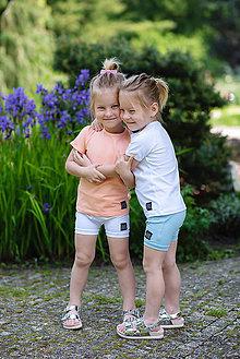 Detské oblečenie - KRAŤASE BASIC - 10794960_