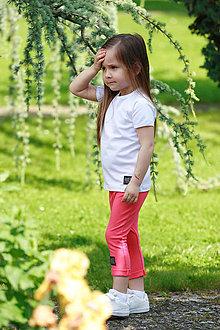 Detské oblečenie - KRAŤASE CLASSIC (86 - Koral) - 10795495_
