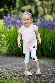 Detské oblečenie - LEGÍNY CLASSIC STYLE SUMMER - 10795525_