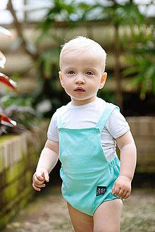 Detské oblečenie - ROMPER CLASSIC (80 - Fuchsia) - 10796464_