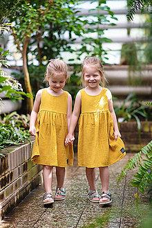 Detské oblečenie - ŠATY MUSLIN - 10796473_